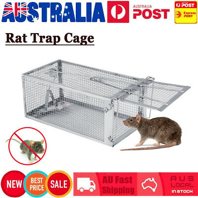 Multi Rat Trap Cage Small Live Animal Pest Rodent Mice Mouse Control Bait Catch