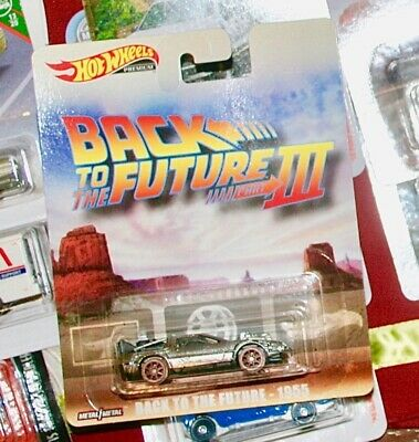 Back To The Future Part III 1955  * 2019 Hot Wheels Retro Case M