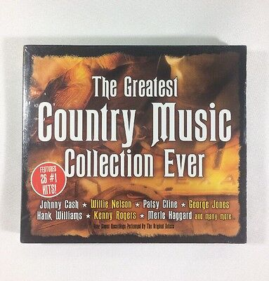 The Greatest Country Music Collection 26 #1 Hits Original Artist Songs Cd