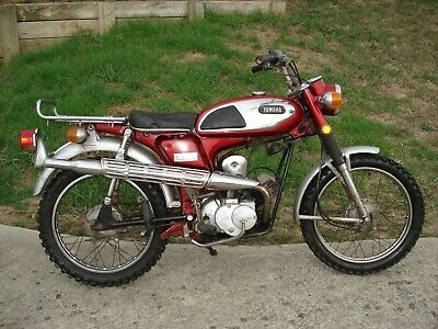 Classic Sixties Yamaha Trailmaster- Can Freight
