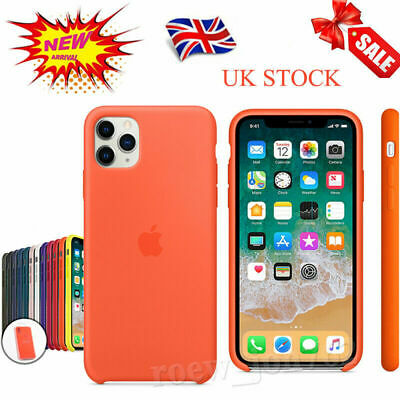 Genuine Original Official Silicone Case Cover For iPhone 11 Pro XS Max XR 8 7 6s