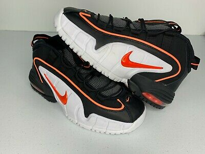 quality design 67cf9 25ec1 NEW Nike Air Max Penny GS 315519 006 Black Orange White - Boys 6   Wmns