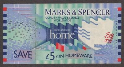 St Michael Marks & Spencer Homeware - 5 Pound Gift Voucher Collectible MerryHill