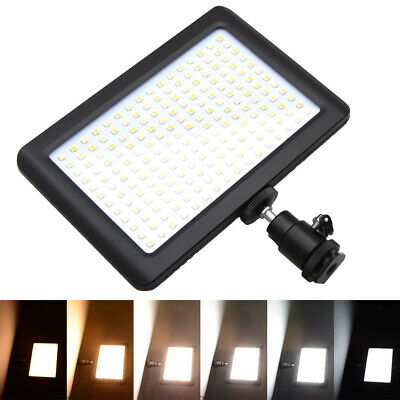 192 LED Photo Video Light Lamp Panel+Hot Shoe for Camera Camcorder DC764