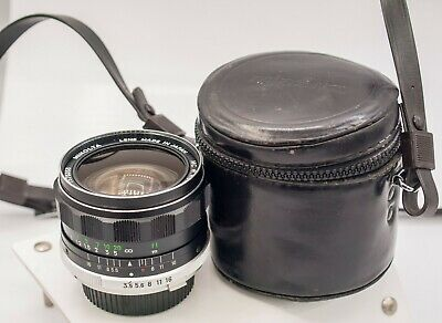 Minolta MC W.Rokkor-SG 28mm F3.5 MD Mount Prime Lens For SLR/Mirrorless Cameras