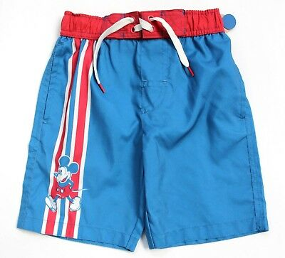e06882161f NEW JUNK FOOD Boys Disney Mickey Mouse Swim Trunks Board Shorts ...
