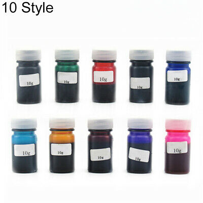 10Colors 10g Epoxy UV Resin Dye Colorant Resin Pigment Mix Color DIY Craft Hot