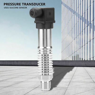 High Temperature Silicon Pressure Sensor Transducer Sender for Liquid Gas Steam
