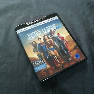 Justice League - 4K UHD & 2D & 3D Blu-ray (2018) / used