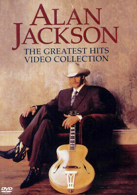 Alan Jackson: The Greatest Hits Video Collection DVD NEW
