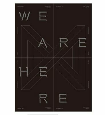 Take.2 WE ARE HERE by MONSTA X The 2nd Album [Ver.1]