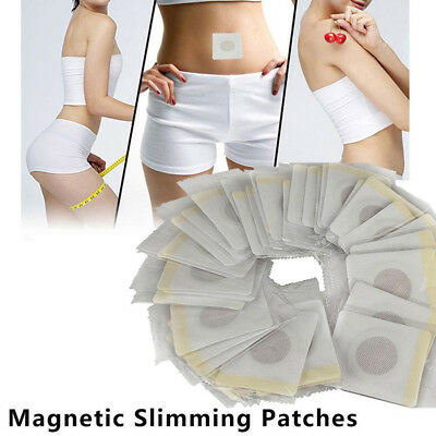 40pcs Magnetic Patch Diet Slimming Weight Loss Adhesive Detox Burn Fat Pads Pop