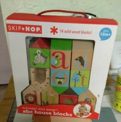 NIB Skip Hop Wood Blocks