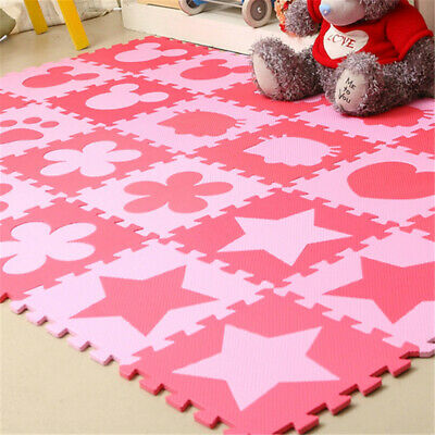 For Kids Baby Boys Girls Foam Floor Puzzle Play Mat Pad Crawling Carpet Decors#