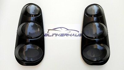 SMOKED Smart Fortwo 450 CDi Brabus Limited 1st Edition 2002- Rear Lights Lenses