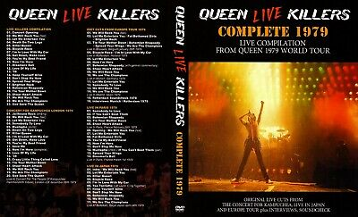 Queen Live In Concert - The Killers Tour 4 Disc DVD Set Over 5 hrs!