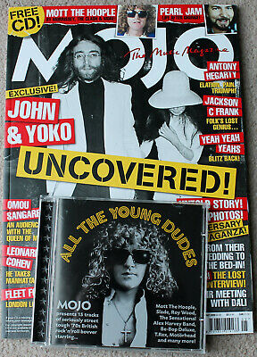 MOJO magazine #186 May 2009 +CD. John Lennon / Mott the Hoople / Pearl Jam