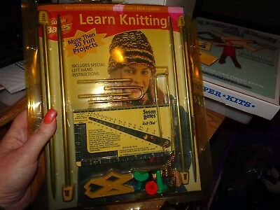 My Knitting Teacher, Susan Bates, Left and Right Hand Instructions, NEW