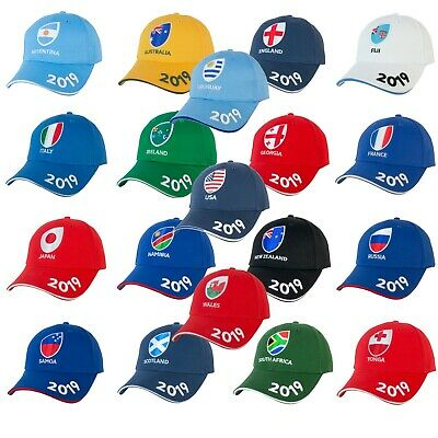 Rugby World Cup 2019 Official Licensed Supporter's Baseball Cap | All Countries