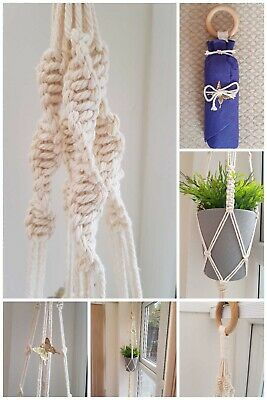 Mothers Day Gifts Macramé Plant Hanger Her Mother Mummy Nan Gift