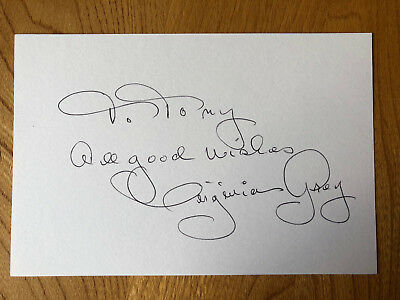 Virginia Grey American actress 6x4 signed autographed card