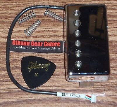 Gibson Les Paul Pickup Burstbucker Pro + HP Chrome Bridge Guitar Parts Humbucker