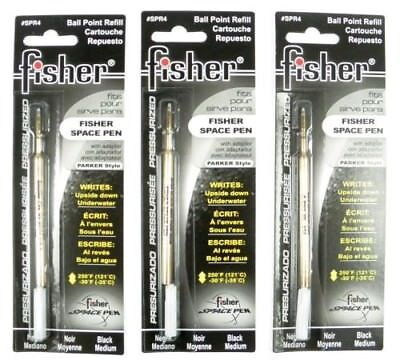 Fisher Space Pen 3 mines noir large