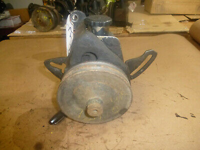 Vintage 1978 Chevy Nova 350 Power Steering Pump W/Brackets Double Belt Pulley