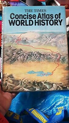 The Times Concise Atlas Of World History(Book)Geoffrey Barraclough-VG