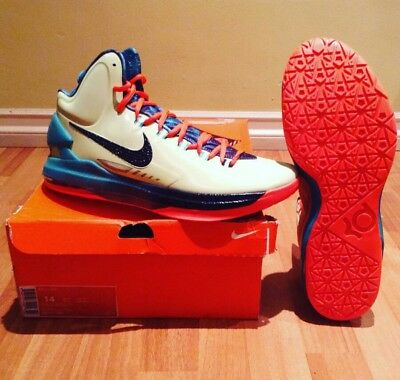 496c90bb154 NIKE KD V 5 Area 72 All Star Extraterrestrial 583111 300 Sz 12 ...
