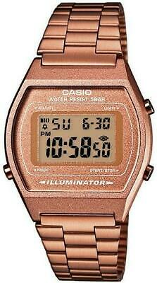 Casio's classic retro watch in rose gold colour B640WC-5AEF RRP £57.50 Now £39.