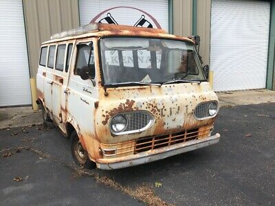 1962 Ford E-Series Van Travel all camper 1962 Ford Travel All camper van