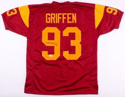 buy online 2557e 52d65 EVERSON GRIFFEN SIGNED USC Trojans Jersey Inscribed