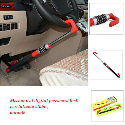 Car Anti Theft Steering Wheel Lock Van Security Device Automobile Clutch Lock