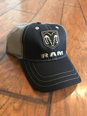 33ecf9ecc DODGE RAM TRUCK Black Baseball Cap Trucker Hat Trucks Hemi New Blue New