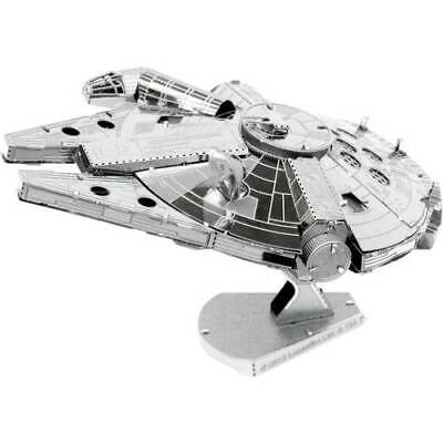 Kit di metallo metal earth star wars millenium falcon (usg)