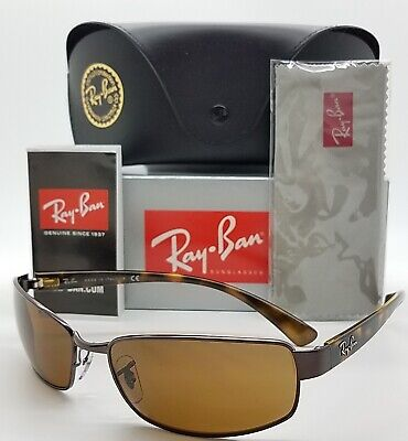 3f12c3f566 NEW Rayban sunglasses RB3364 014 62 Tortoise Brown Classic AUTHENTIC metal  wrap