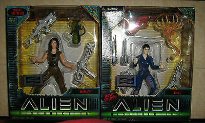 Alien Resurrection Ripley Action Figure & Anna Lee Call Action Figure Sets 2 - F
