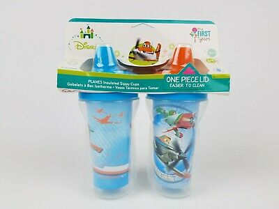 The First Years Disney Planes Insulated Sippy Cup 9 Oz Baby Cups 2pk