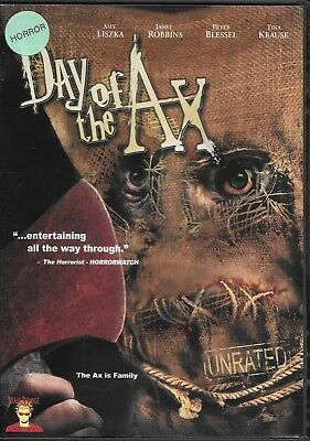Day of the AX (DVD) Horror Slasher! We Combine Shipping in the U.S.!
