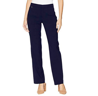 LAUREN Ralph Lauren Wool-Blend Straight-Leg Pants MSRP $165 Size 16 # 9A 556 NEW