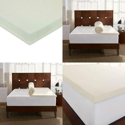Sleep Innovations 2 Inch Memory Foam Mattress Topper Made In The Usa