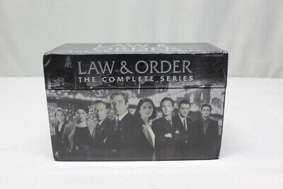 Law and Order: The Complete Series DVD 104-Disc Set (2011) Seasons 1-20