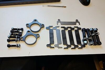 Mitsubishi L200 96-07 Upper Ball Joint Spacer Kit. M10 Bolts Supplied Read On!