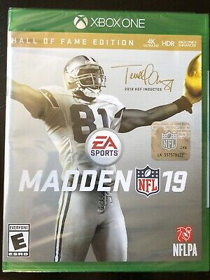 MADDEN NFL 19 - Hall of Fame Edition Xbox One [Brand New