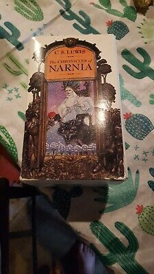 The Chronicles Of Narnia Old Box Set Lot CS Lewis