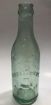 Vintage Bottle Soda Booth Brothers Phila, PA. Liberty Bell Embossed 1910 1920