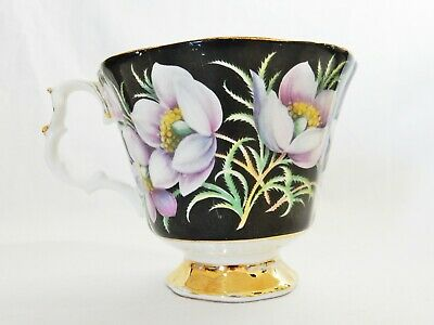 Beautiful Vintage Royal Albert Prairie Crocus Provincial Flowers Orphan Teacup