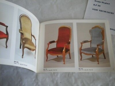 Vintage catalogue french Furniture GM Geromeubles