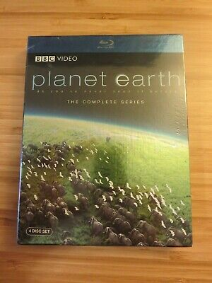 Planet Earth - The CompleteSeries (Blu-ray Disc, 2007, 4-Disc Set) BBC Video